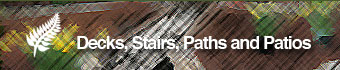 Decks Stairs Paths and Patios